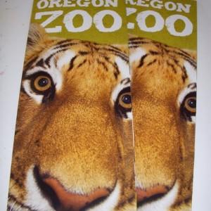 Oregon Zoo brochure cover