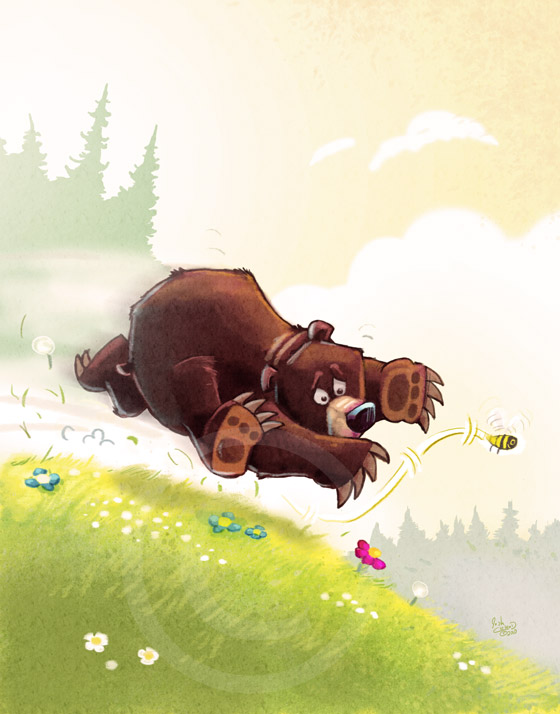Leave a Reply Cancel reply Honey Bear Illustration