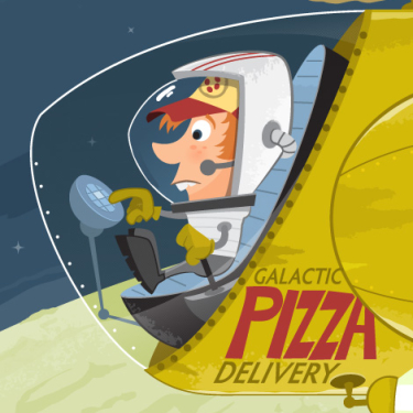 Galactic Pizza Delivery