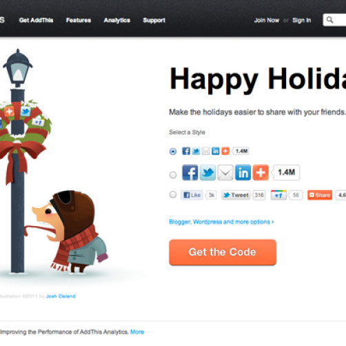 Illustration Featured on AddThis.com!