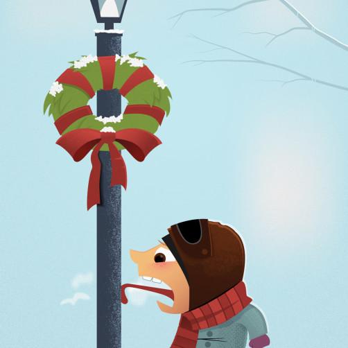 2011 Christmas Card: I Triple-Dog Dare You