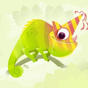 Birthday Chameleon