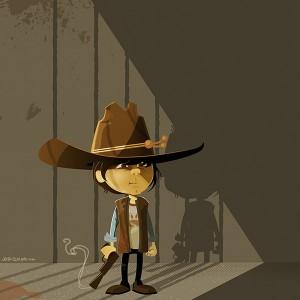 Carl of The Walkin Dead