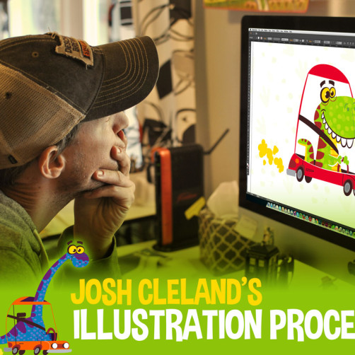 Blog Tour, My Illustration Process