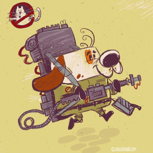 Land of Cle by Josh Cleland Ghostbusters